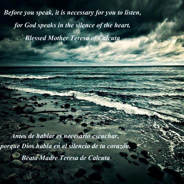 Silencio de la oración