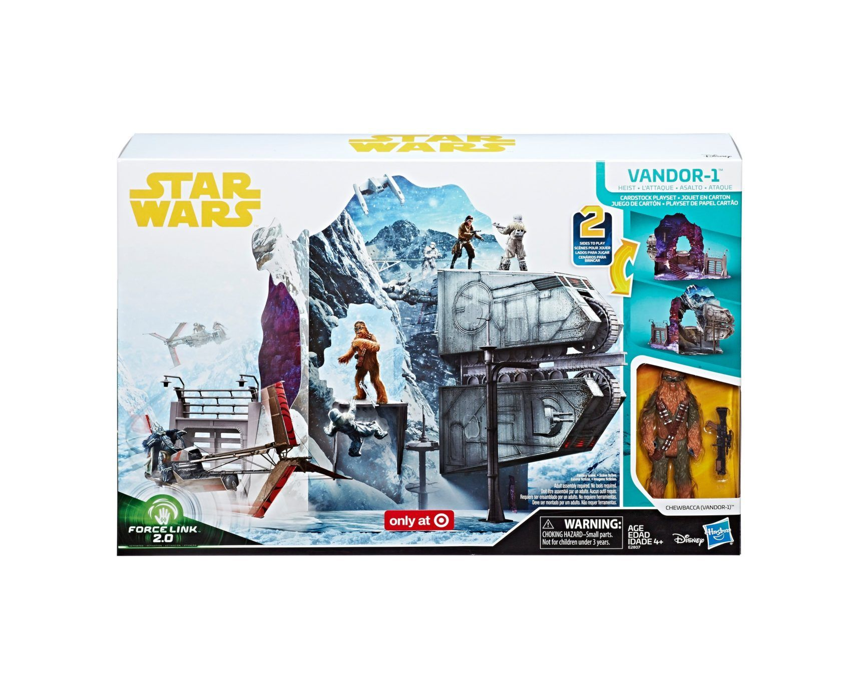 Pressebilder Zum Hasbro Force Link 2 0 Cardboard Playset Vandor 1 Heist War Stories Star Wars Star Wars Toys
