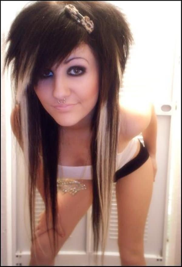 Emo Hairstyles 44 Hair Pinterest Emo Hairstyles And Emo Style