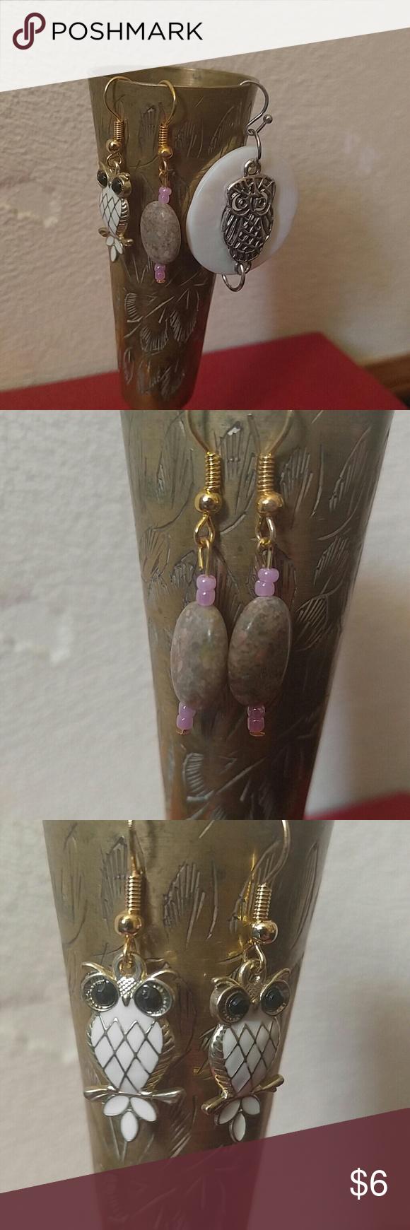 Set of Three Earrings Brand new set of three earrings. Dangle earrings.  Set #51 Jewelry Earrings