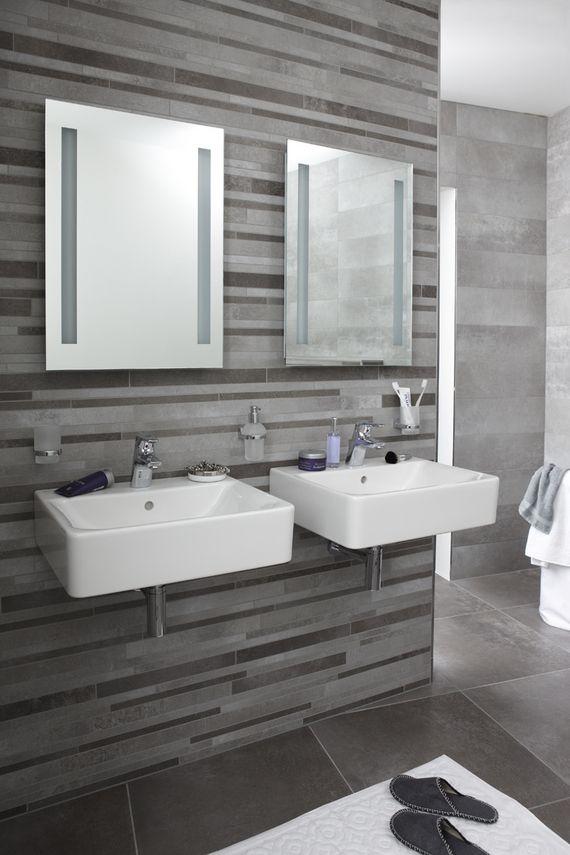 Badkamer met 2 wastafels | Badkamers Doetinchem | Pinterest