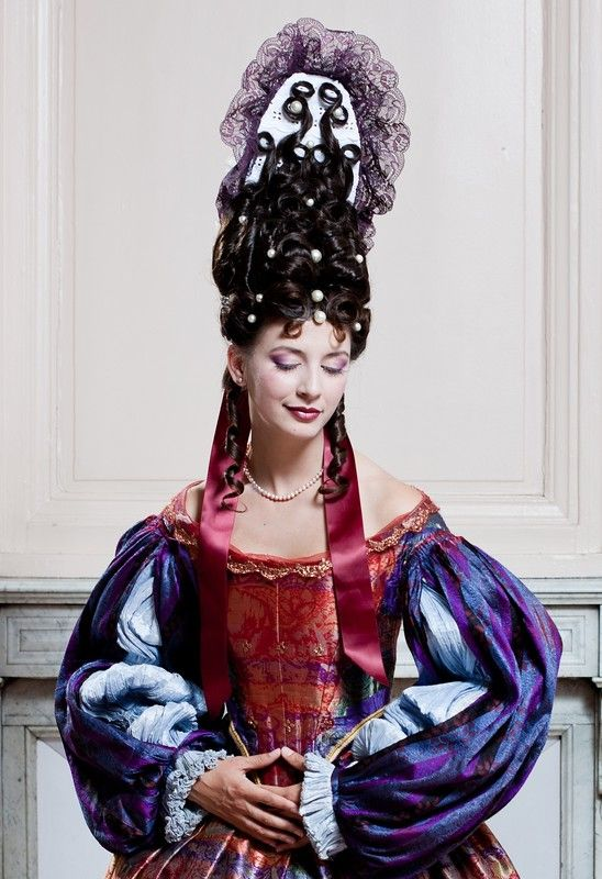 Fontange Xviieme Siecle Coiffure Costume