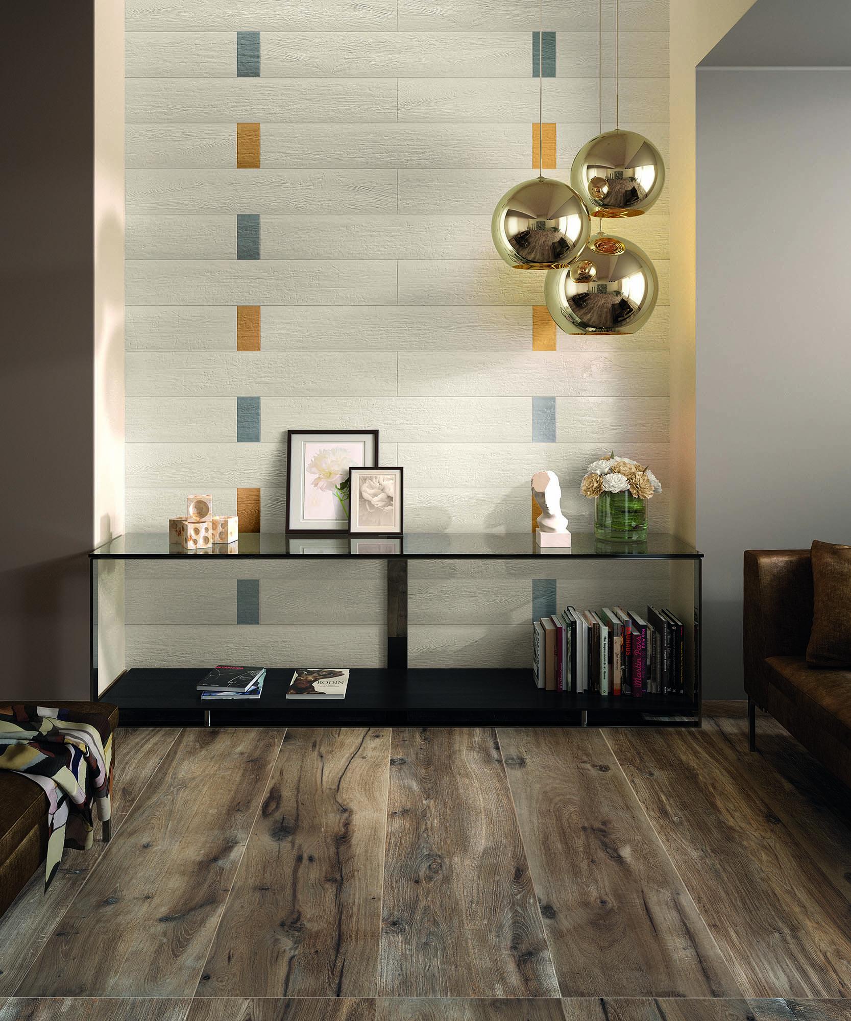"""Urban Forest Flexible Porcelain Tile Terrace Brown 8""""x67"""