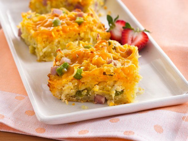 Do-Ahead Cheesy Hash Brown Breakfast Bake @Judy Fox