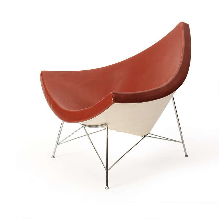 George Nelson Coconut Lounge Chair From Herman Miller C