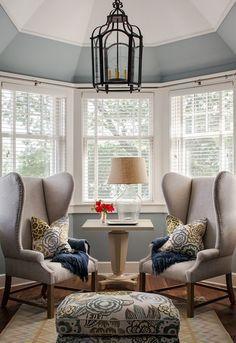 Pinjennifer On Jennifer's Home Decor  Pinterest  Bay Window Delectable Living Room Bay Window Designs Design Decoration