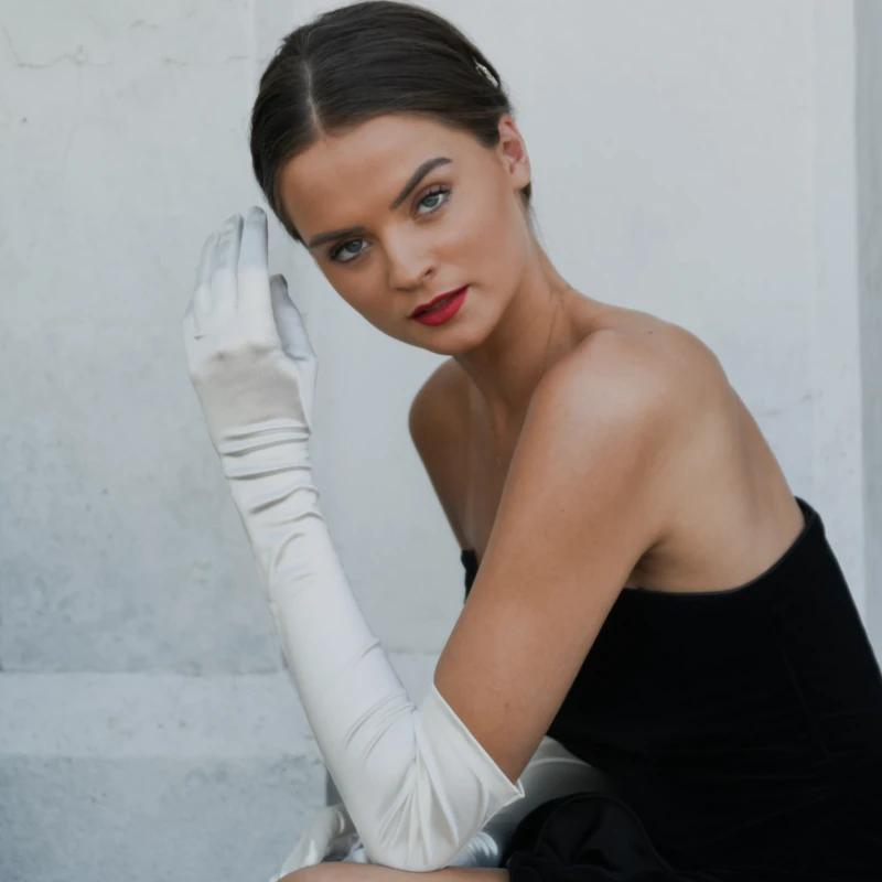 Hermione | Duchess Satin Glove