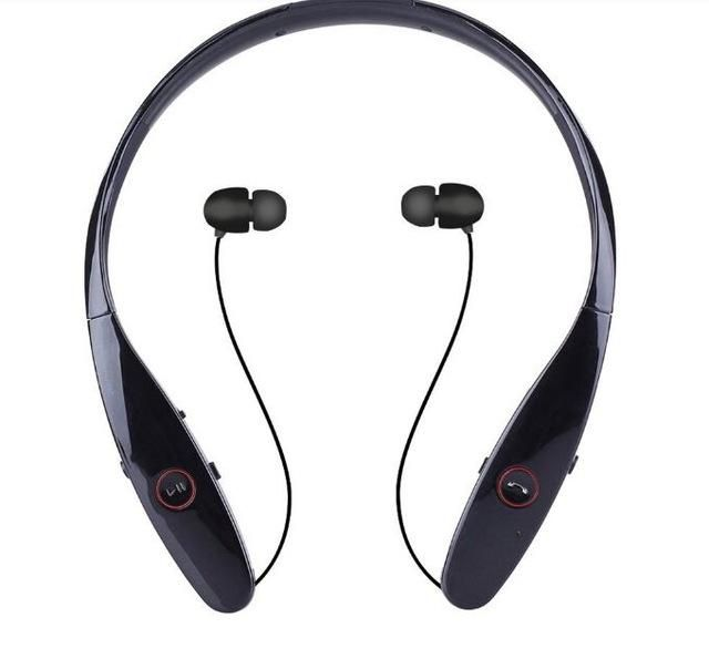 69573de82a4 Wireless Bluetooth Neckband Style Headset Stereo Headphone ...