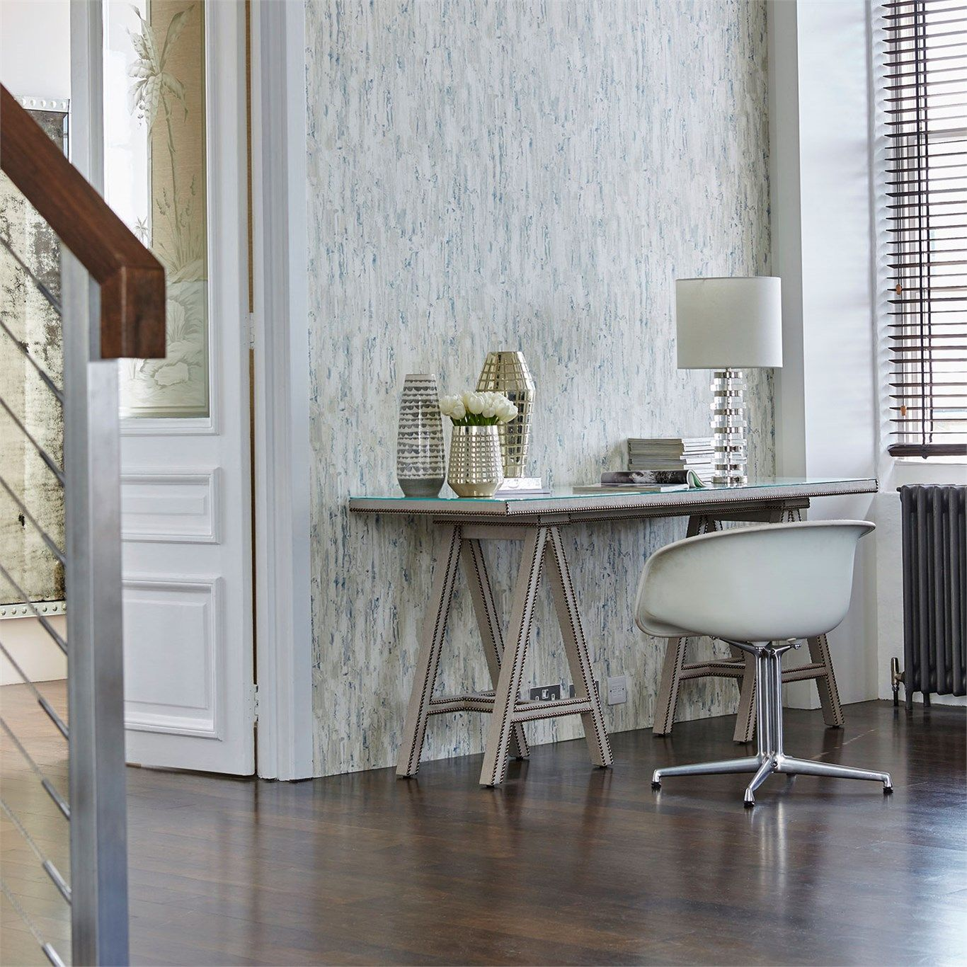 office wallpapers design. Capas By Harlequin Is An All Over, Vinyl Wallpaper Design Featuring A Distressed Plaster Effect Pattern. Office Wallpapers