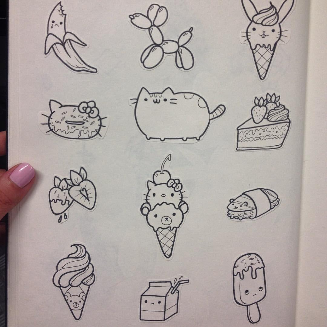 beaf7e0d7 Ideal ideas for tattoo | Tattoos | Kawaii tattoo, Tattoo flash sheet ...