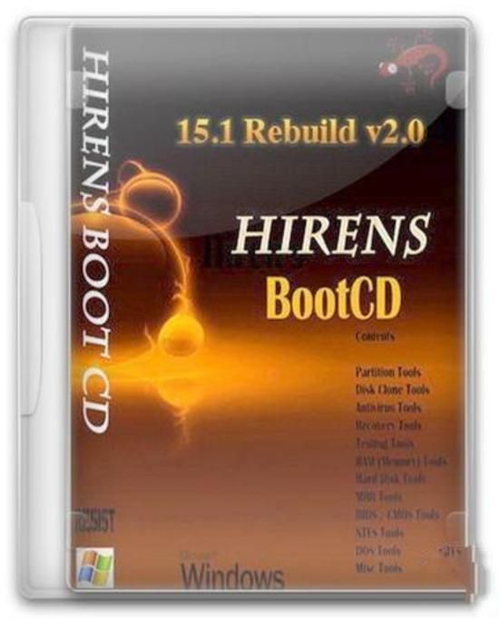 Hiren's Boot (HBCD) 15 1 Rebuild by DLC v2 0 Free Download