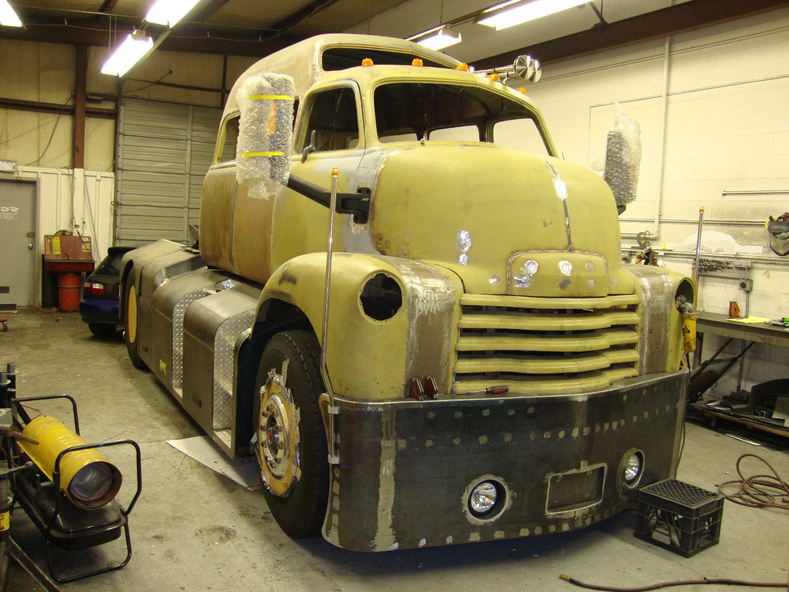 Vintage chevrolet c o e cab over engine truck chevrolet for Truck motors for sale