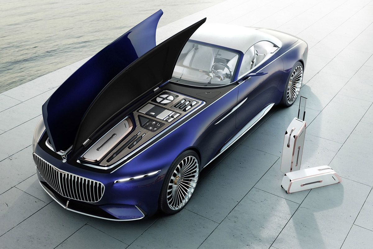 The Insane Mercedes Maybach 6 Concept Is Now A Drop Top Mercedes
