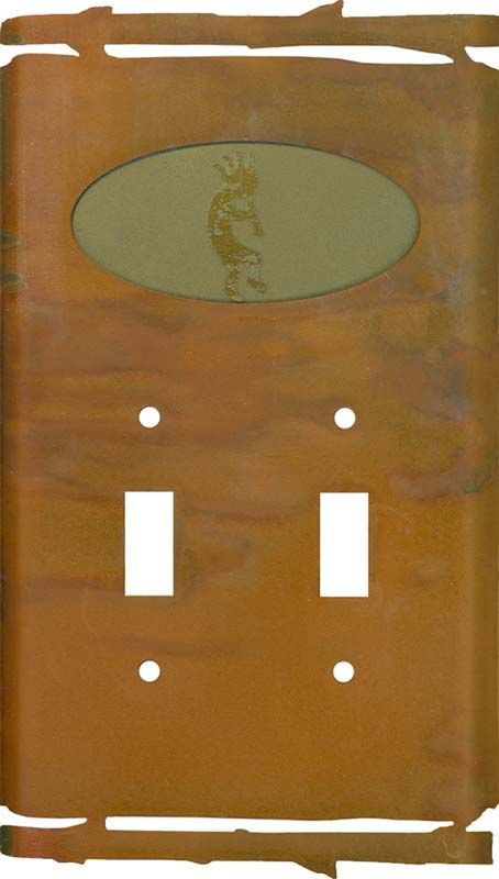 Howling Triple GFCI Rocker Switch plate Cover