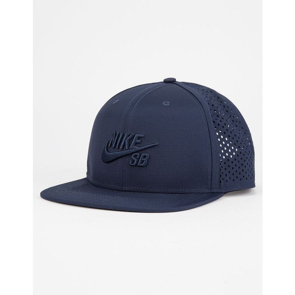 a7091a6734c666 Nike Sb Performance Mens Trucker Hat ($30) ❤ liked on Polyvore featuring  men's fashion, men's accessories, men's hats, mens trucker hats, mens hats,  mens ...