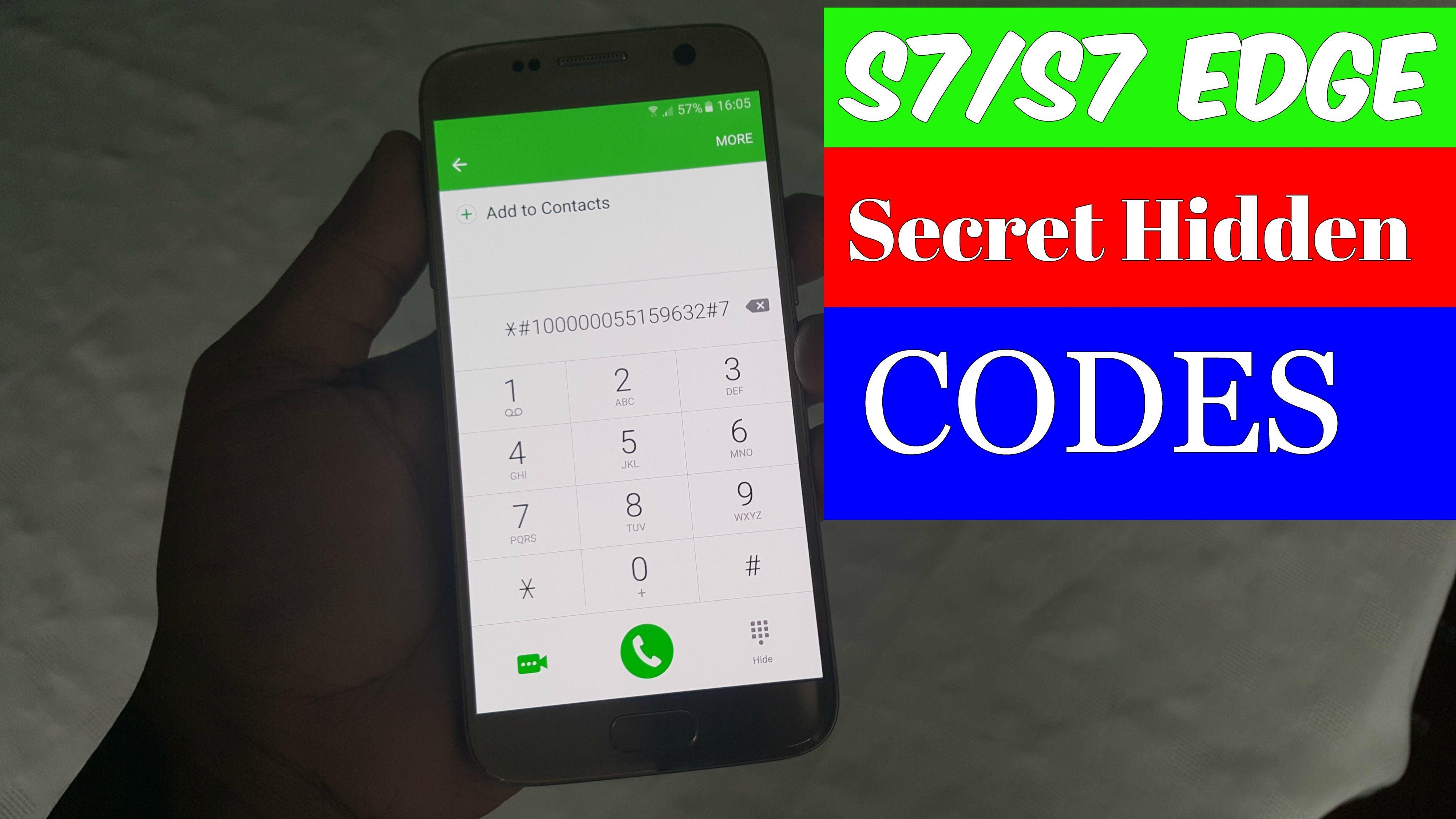 Samsung Galaxy S7 S7 Edge Secret Hidden Codes Tips Tricks Samsung Galaxy S7 Samsung Galaxy Galaxy