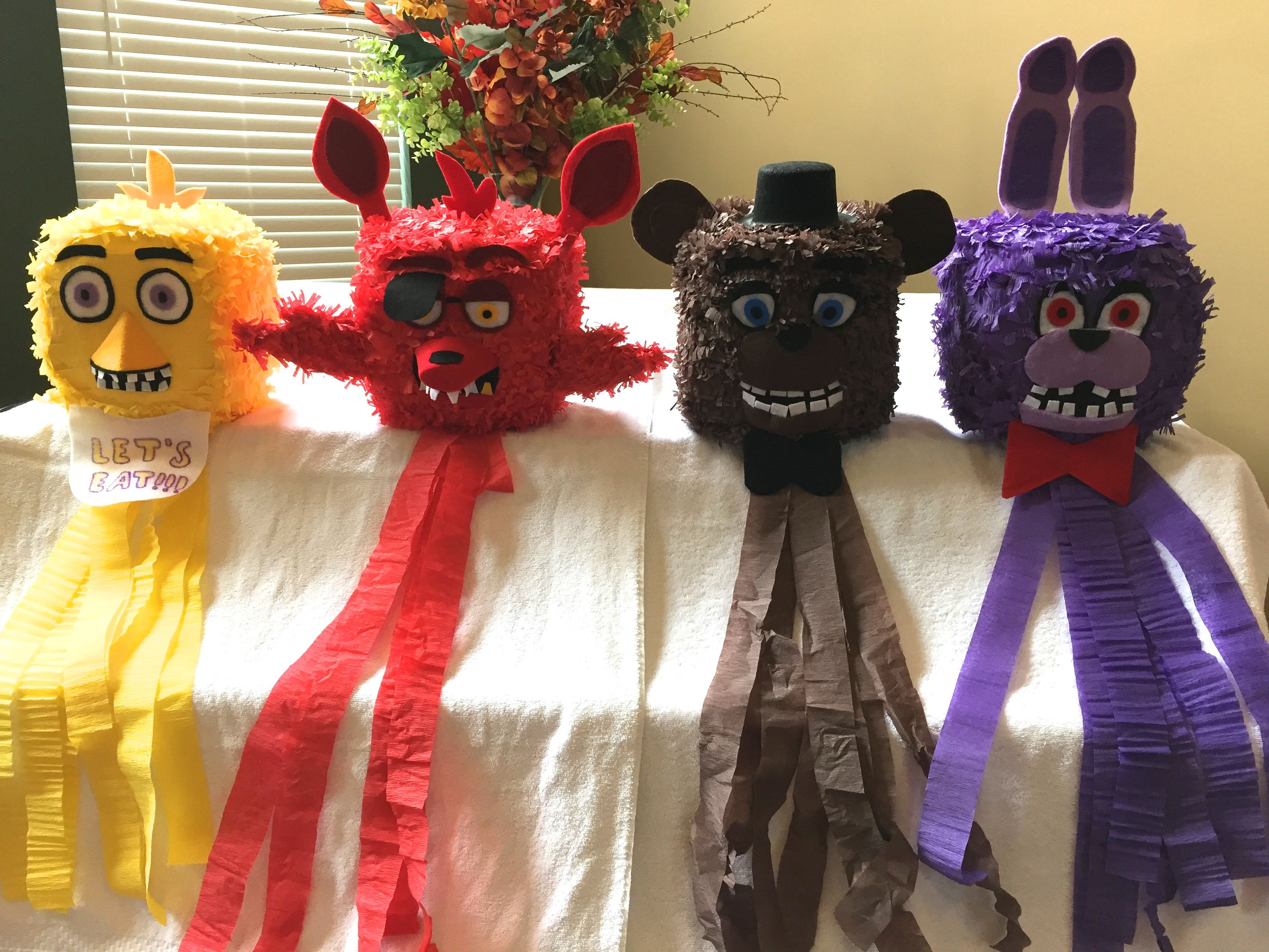 14 best five nights at freddy u0027s fnaf pinatas images on pinterest