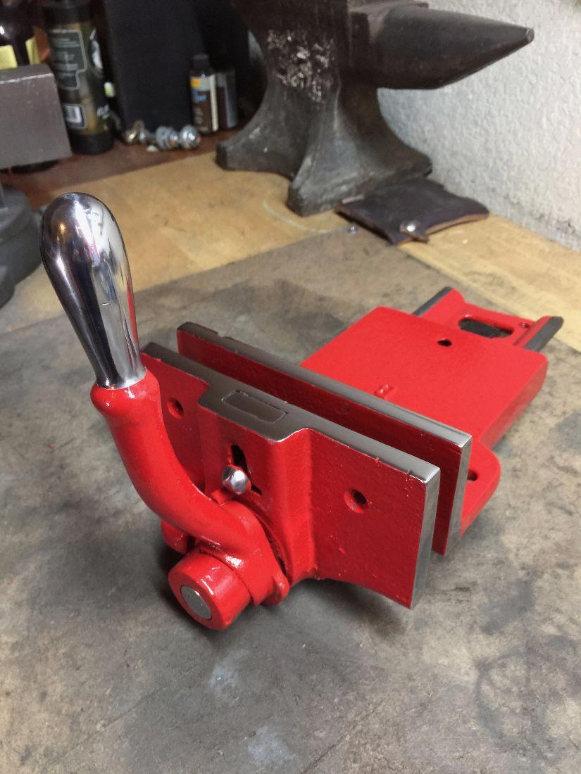 Vintage Sheldon Rapid Action Woodworking Vise Old Arn