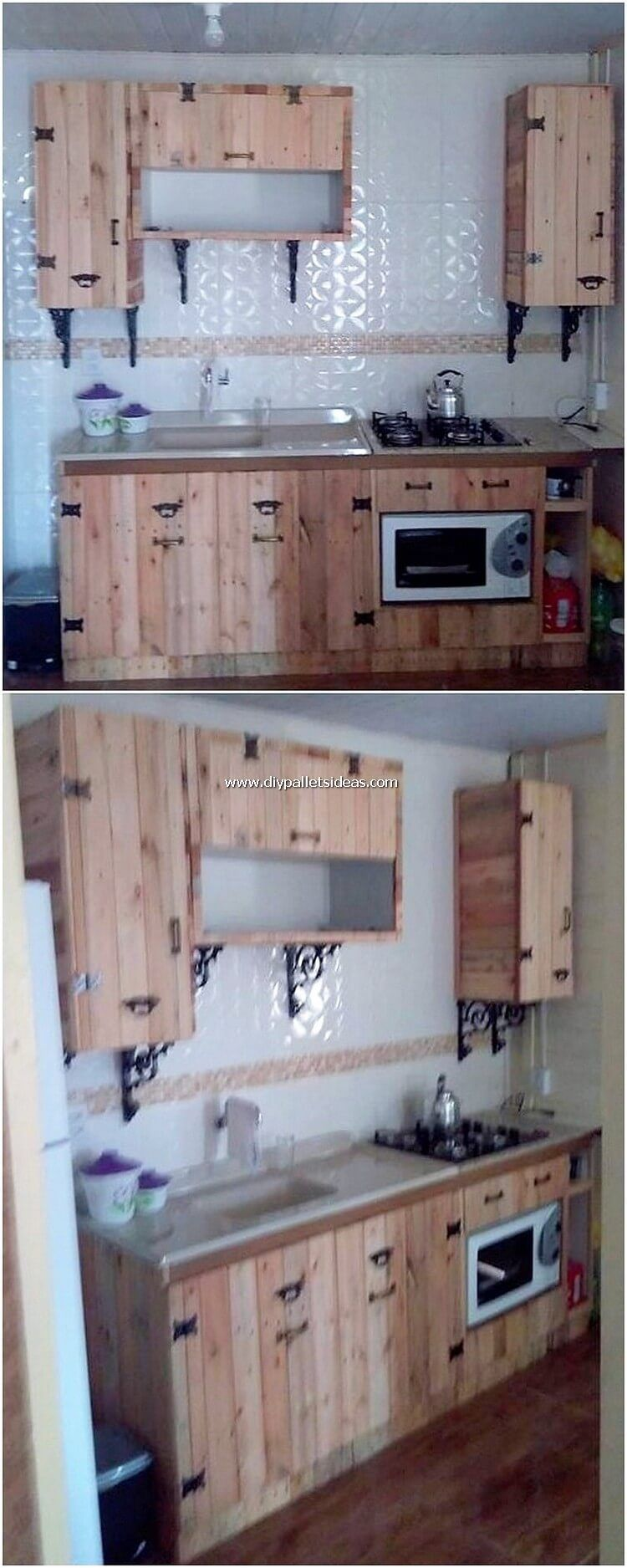 Setting Up The Use Of The Excellent Kitchen Cabinets Furniture In The House Kitchen Room Will Diy Kitchen Cabinets Build Diy Kitchen Cabinets Pallet Furniture