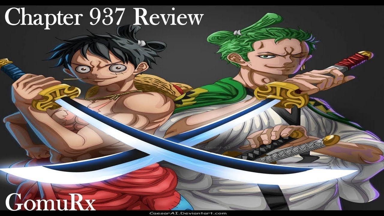 One Piece Chapter 937 Review - Zoro Ryuma Shusui | One ...
