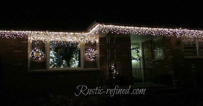 How To Hang Christmas Lights The Easy Way With Images Holiday Lights Outdoor Hanging Christmas Lights Holiday Lights