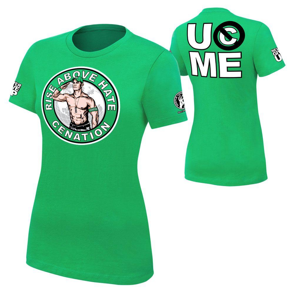 John Cena Salute the Cenation Women's T-Shirt! http://streetlegaltshirts.com/