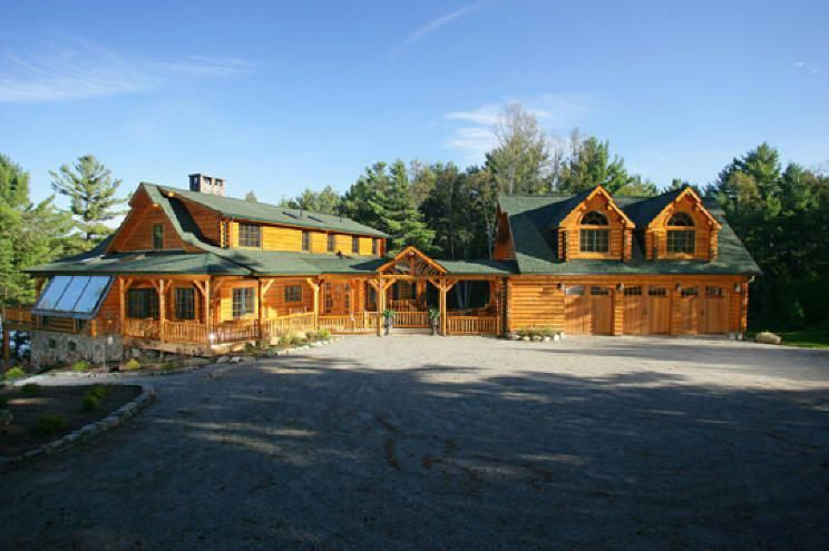 Image Detail For See Photos And Images Of Log Homes And Log Cabins Log Cabin Exterior Log Cabin Homes Cabin Homes