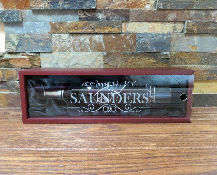 Etsy wine gift box personalized housewarming gift