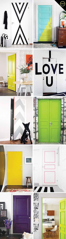 Transforme a decor de casa pelas portas doors interiors and bedrooms