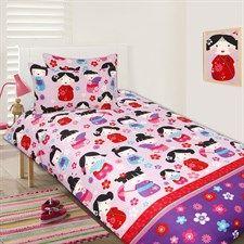Multi China Doll 7 Piece Bundle Set - Single Bed