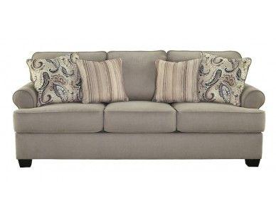 Transitional Style Sofa Stone Sam Levitz Furniture
