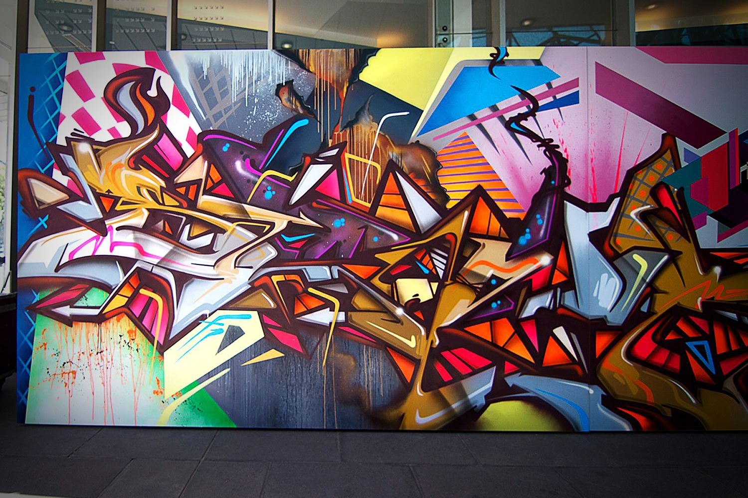 Graffiti wall painting - Sirum_graffiti Wall Art_63 Jpg 1500 1000