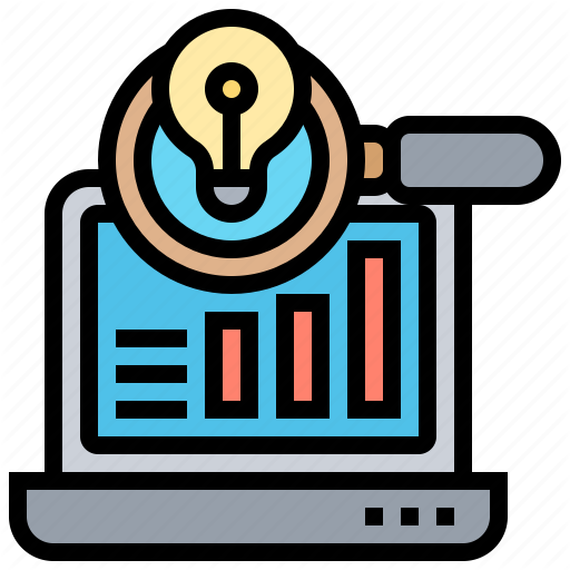 Analysis Report Research Result Statistics Icon Download On Iconfinder Flat Design Icons Icon Analysis