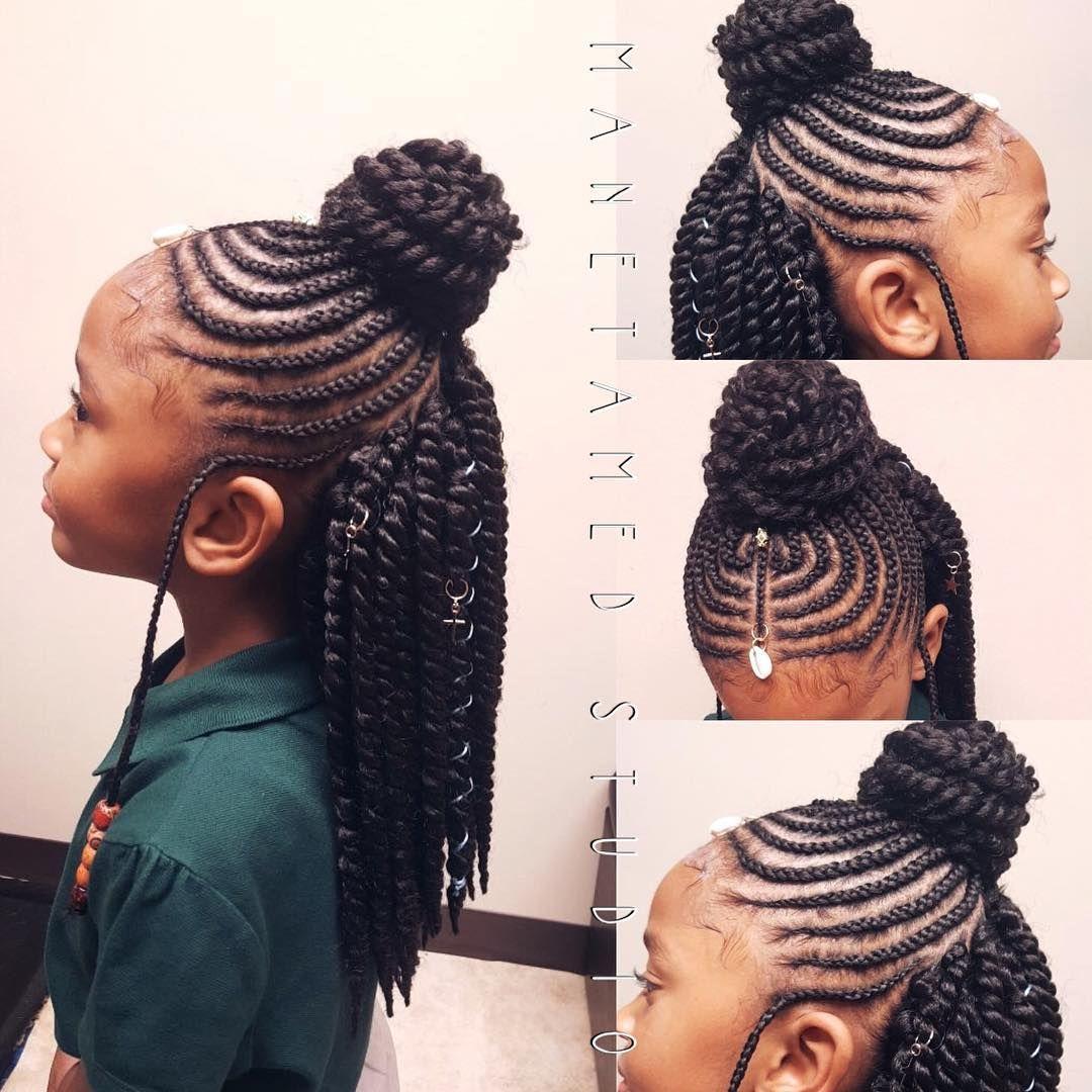 Queen Abena Hair Styles Natural Hair Styles Black Kids