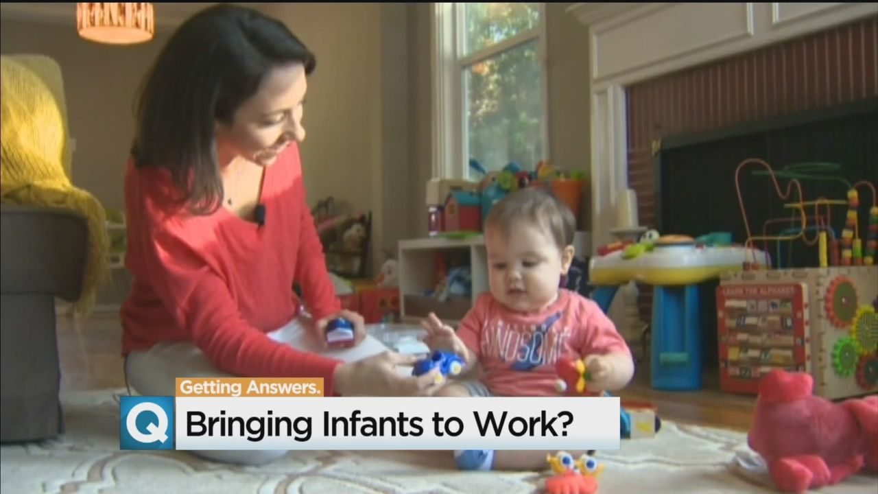 California state workers may get to bring infants to work