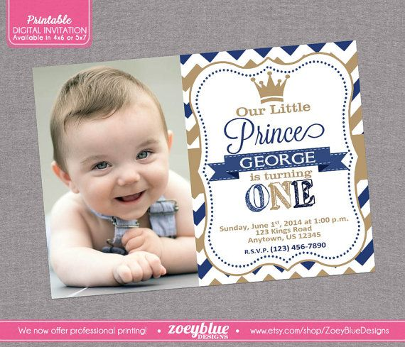 1st birthday prince theme birthday