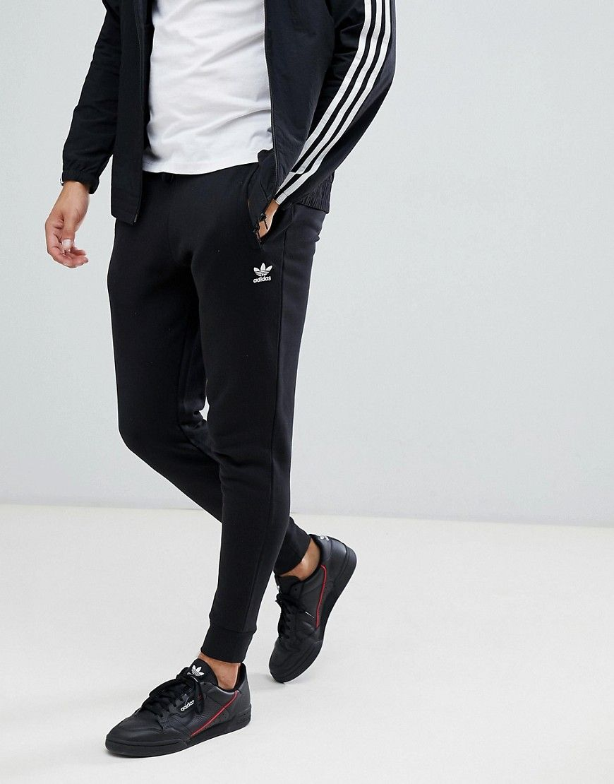 deca4c208 ADIDAS ORIGINALS JERSEY JOGGERS IN BLACK DN6009 - BLACK. #adidasoriginals  #cloth #