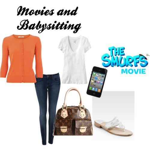 Movies, Fashion, Polyvore