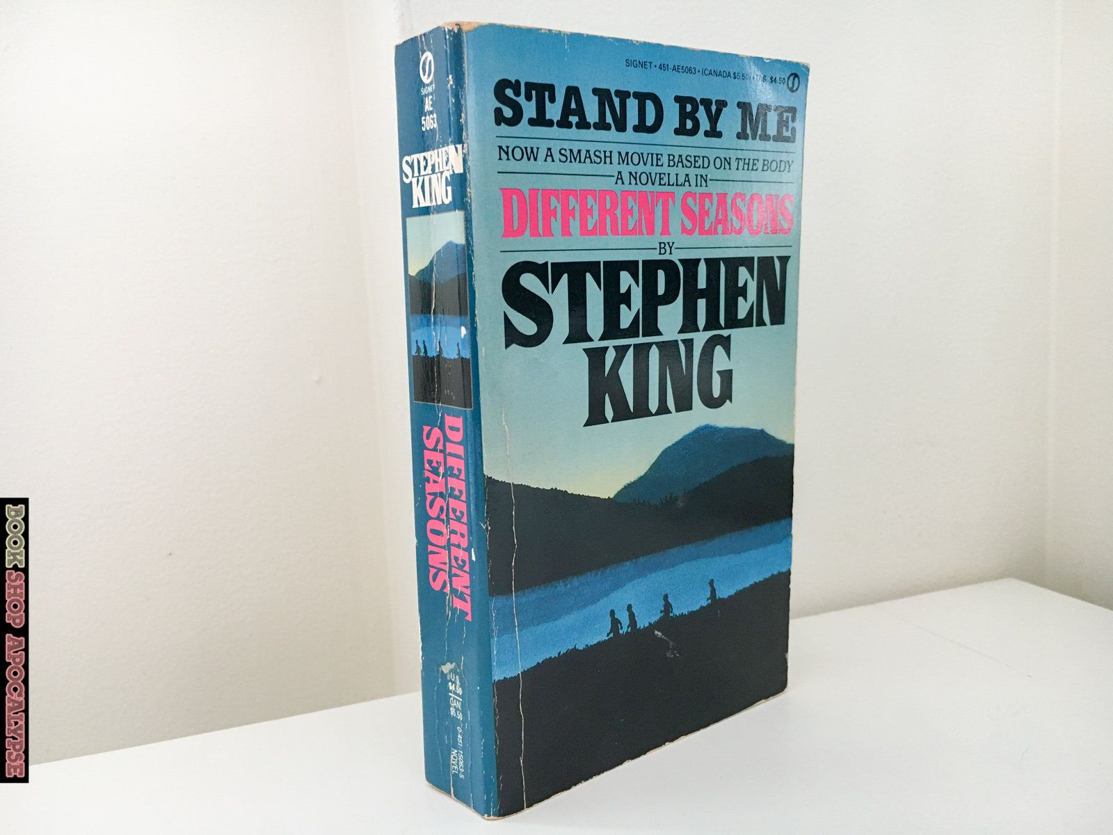 Different Seasons By Stephen King Stand By Me Movie Tie In Paperback King Book Stephen King Different Seasons