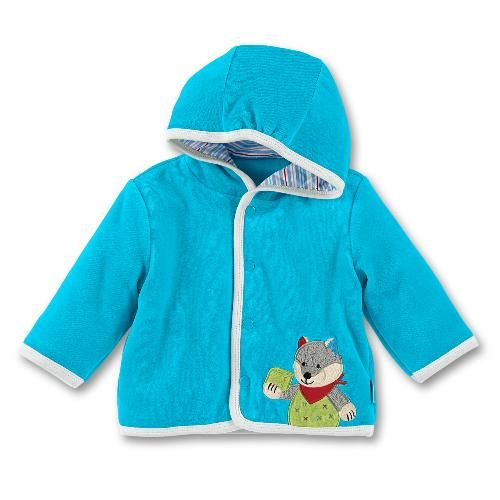 Vêtement bébé<BR><B>Veste à capuche bébé</B> Wilbur<BR>STERNTALER