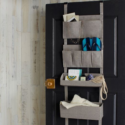 Bamboo Laundry Collection, Over the Door Organizer West