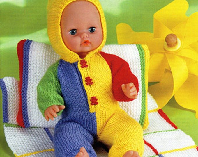 Baby Dolls Knitting Patterns Baby Dolls All In One Pillow Blanket ...