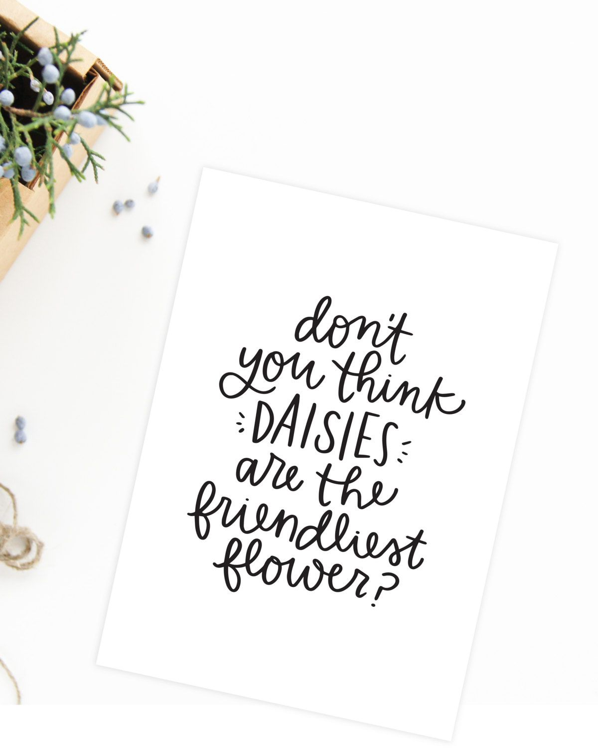You\'ve Got Mail Quote Daisies Quote by alexazdesign on Etsy ...