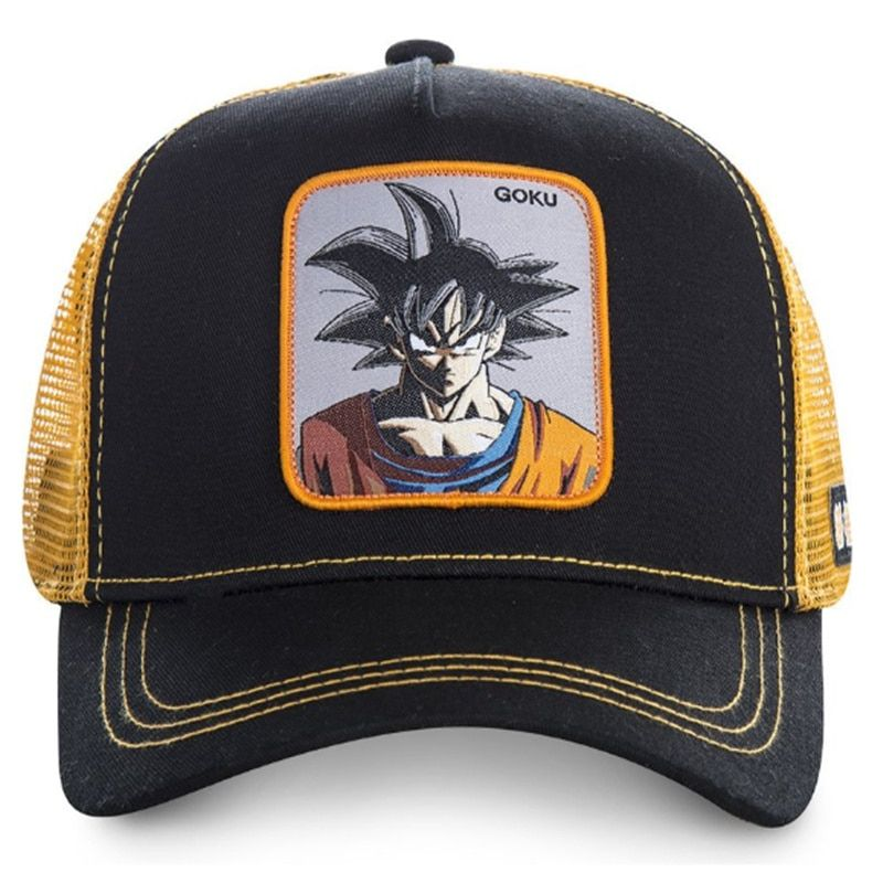 Dragon Ball Z Themed Baseball Cap Ii 12 Varian Dragon Ball Dragon Ball Z Baseball Cap