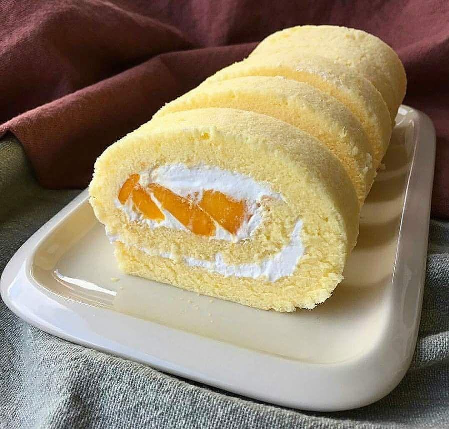 Mama U0026 39 S Mango Swiss Roll