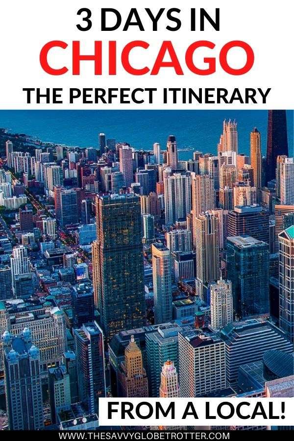 The perfect 3 days in Chicago itinerary from a local | Chicago Travel Guide | Chicago Travel Tips | Chicago Illinois | Places to Visit in Chicago | Chicago Photography | Downtown Chicago Things to Do in Weekend Summer Winter Spring Fall | Chicago Hotels | Chicago Travel Where to Stay | Chicago Neighborhoods | Chicago Travel Bucket Lists | Chicago Attractions | Chicago Activities | #chicago #thingstodoinchicago #travelchicago #chicagotravelguide #bestofchicago #chicagoil #travelitinerary