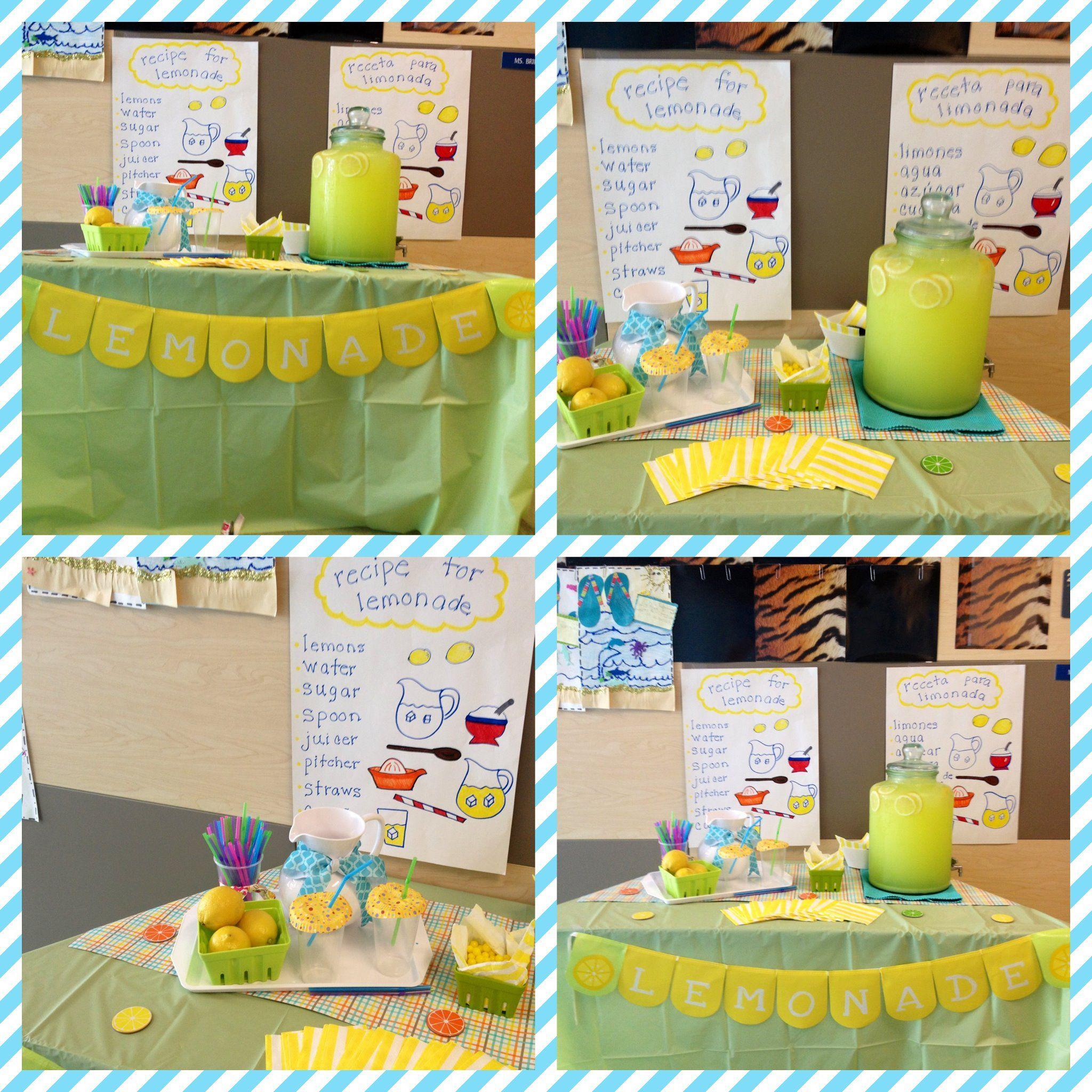 Summer School Ideas Lemonade Day