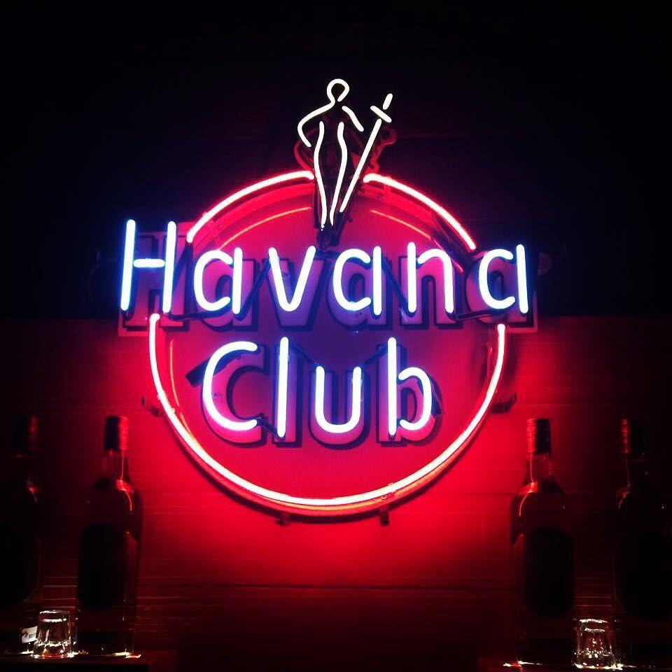 Havana Club Neon Neonlights Neonglow Neon Neonsign Neonart Neonwork Havanaclub Lights Pro Handmade Club Art Sign Deco Neon Neon Signs Cuba Libre