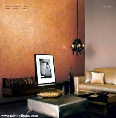 Copper Royal Play Crinkle Wall Paint Designs Asian Paints Wall