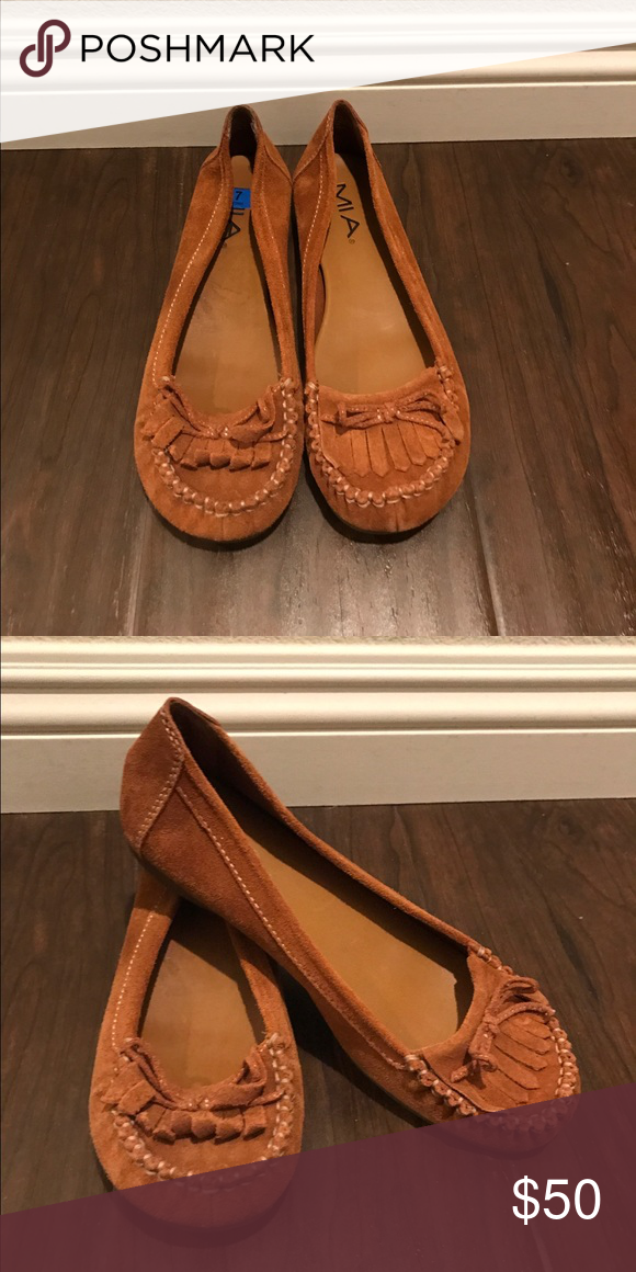 Mia moccasins Mia. Moccasins. Color Tan. Size 7.5. Condition New MIA Shoes Moccasins